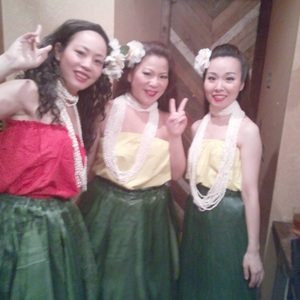 Hula Dance♪ Group Lessons