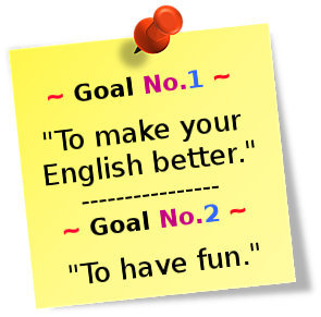 my english learning goal Learning english is my goal, kabul, afghanistan 12 likes this page will provide you the best english learning materials & learning technique please.