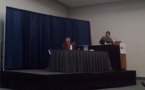 Academic presentation in San Diego, CA.