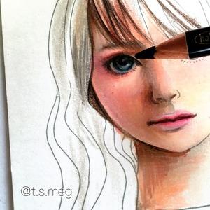 オンラインレッスン 自分で塗った塗り絵をレベルアップさせよう 30分レッスン